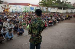 Drug detention centre in Laos (HRW)